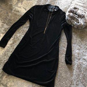 H&M Gorgeous Black Velvet Dress